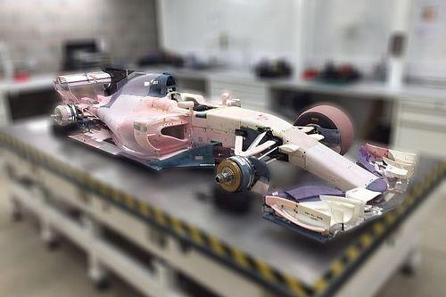【F1分析】マノー2017年仕様マシン詳細解説。新規則の傾向が見える!?