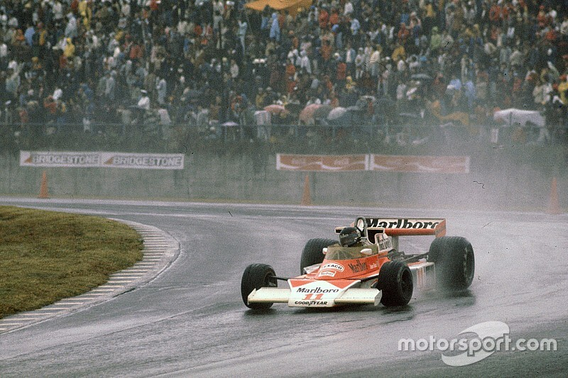 In beeld: Alle F1-zeges van James Hunt
