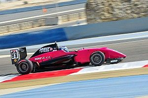 Bahrain MRF Challenge: Aron beats Mawson and Schumacher to maiden win