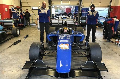 Prove tecniche di GP3 per il ticinese Giacomo Bianchi