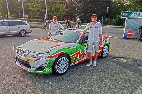 Una bella gara per Riccardo Canzian con la Toyota GT86 CS-R3