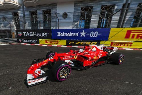 """Vettel: """"No sé qué les pasó a los Mercedes, fue un poco raro"""""""