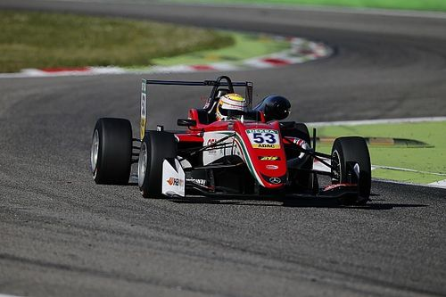 Monza F3: Ilott wins final race from Norris