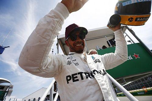 "Hamilton: Senna helmet gift eclipses ""all my trophies"""