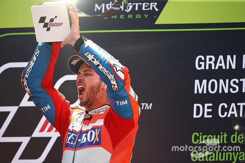 Dovizioso también gana en Montmeló y pone el Mundial al rojo vivo