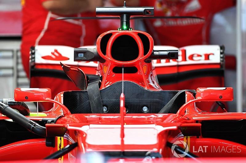 Video: Die neue Formel-1-Airbox am Ferrari SF70H