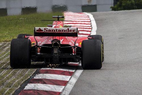 La caja de cambios de Vettel no tiene daños