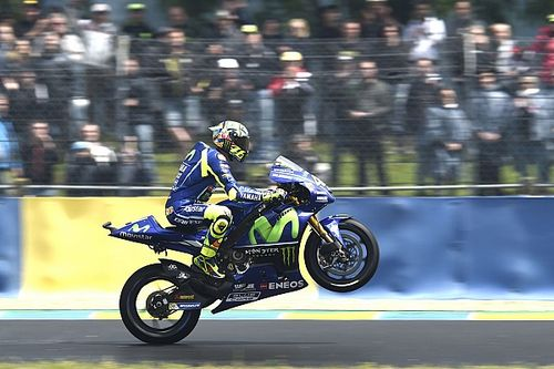 Rossi: a motor remekül működik és jó rajtolni a második helyről