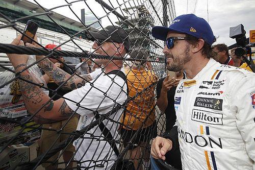 """Alonso: """"Importante scoprire com'è guidare ad Indy con il vento forte"""""""