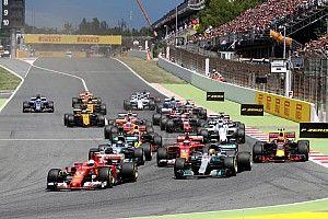 First half of F1 2017 season in statistics