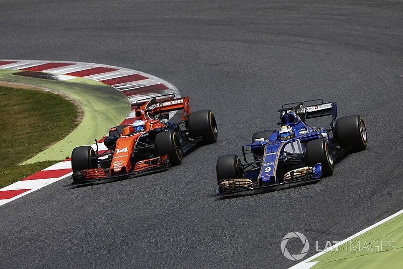 Sauber, indiferente a las críticas de McLaren a Honda