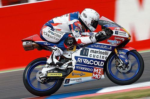 Moto3: Fenati vuelve a lo más alto del podio un año después