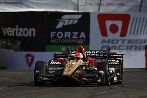 IndyCar Yarış raporu Long Beach IndyCar: Hinchcliffe kazandı