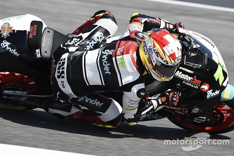 Moto2: Aegerter auf dem Vormarsch, Raffin in den Niederungen