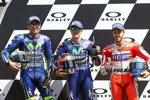 In beeld: De startopstelling voor de Grand Prix van Italië