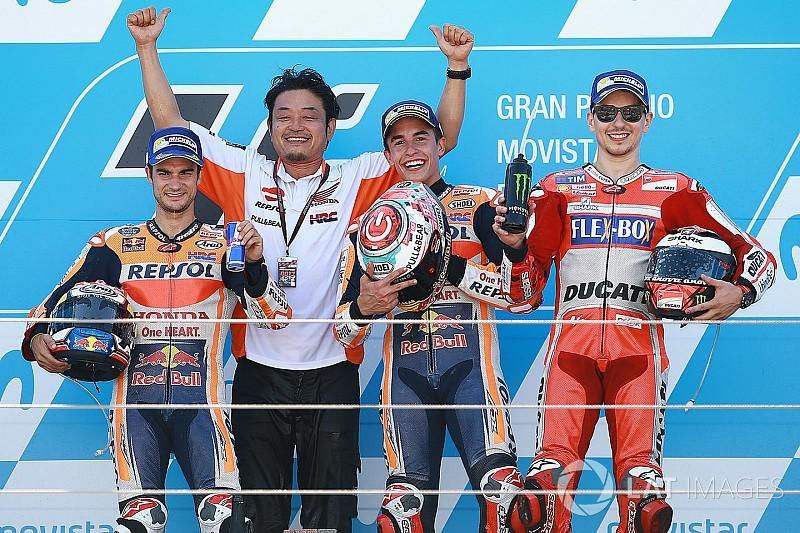 Alle MotoGP-Sieger des GP Aragon in Alcaniz