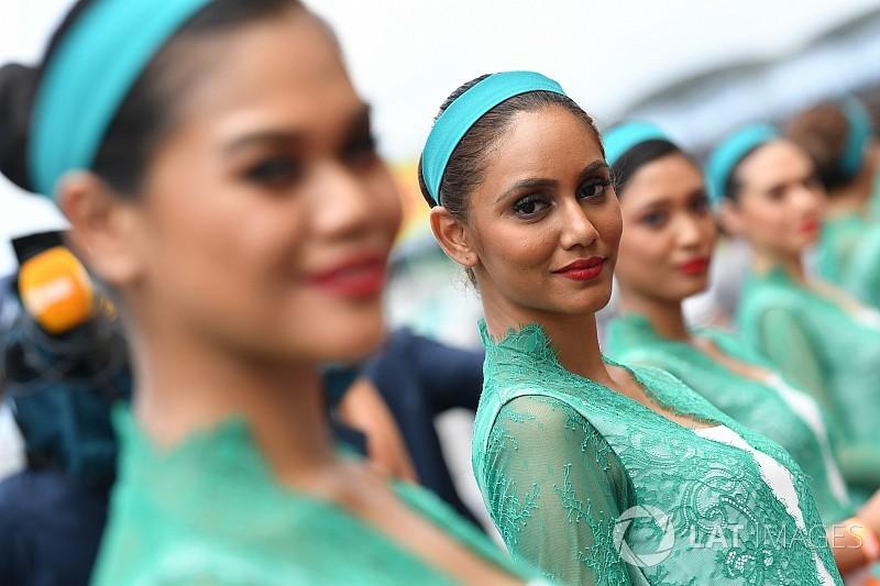 Fotogallery: ecco le grid girl del GP della Malesia di F.1