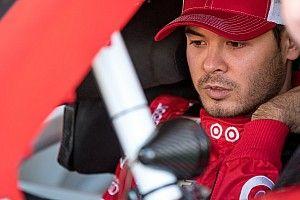 Larson tops lone Friday practice session, Johnson wrecks
