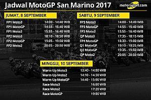 Jadwal lengkap MotoGP San Marino 2017