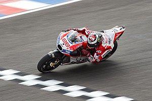 Jorge Lorenzo 18e, victime d'une erreur de pneu