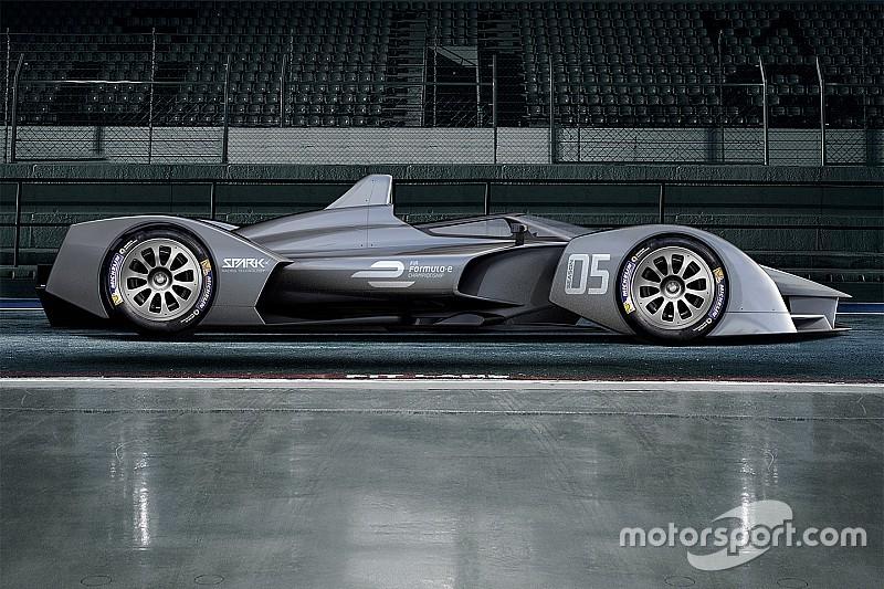 Season five Formula E car set for first test in October