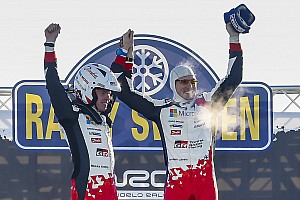 WRC Leg report Sweden WRC: Latvala grabs landmark win for Toyota