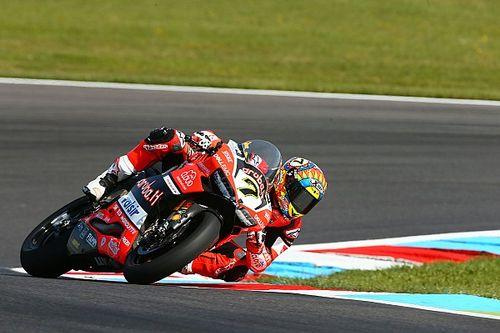 Une première journée mouvementée pour Ducati