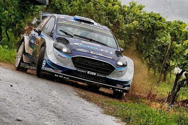WRC Etappenbericht WRC-Rallye Deutschland: Tänak führt am Samstagmittag vor Mikkelsen
