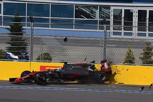 Grosjean látványos pofont kap: azonnal vége a játéknak