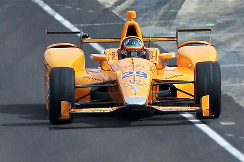 Live video: il primo test di Fernando Alonso ad Indianapolis