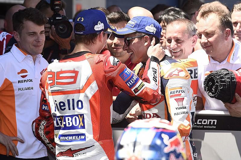 """Márquez: """"Pedía un compañero rápido, pero no hacía falta que lo fuera tanto"""""""