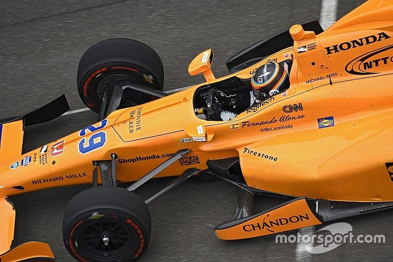 Alonso's first Indy 500 test grabbed 2m views