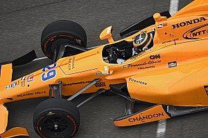 """اختبار ألونسو الأول لسباق """"إندي 500"""" يتخطى عتبة مليونَي مُشاهدة"""