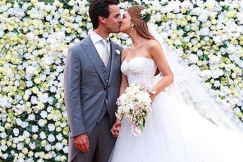Xandinho Negrão e Marina Ruy Barbosa se casam em Campinas