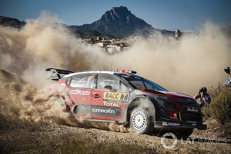 """A """"home"""" round for the Citroën Racing crews!"""