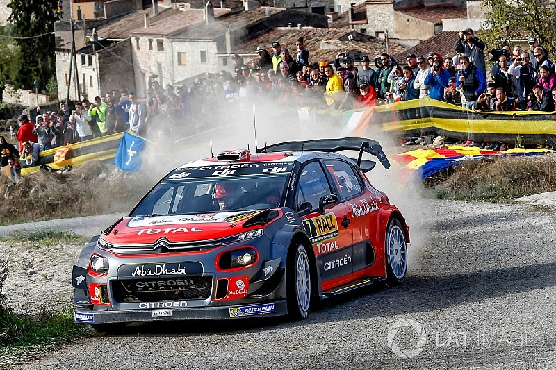 Catalunya WRC: Meeke wins, Ogier edges closer to title