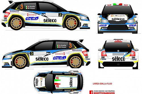 Nucita al via del Rally del Ciocco con una Skoda R5 del team DP Autosport