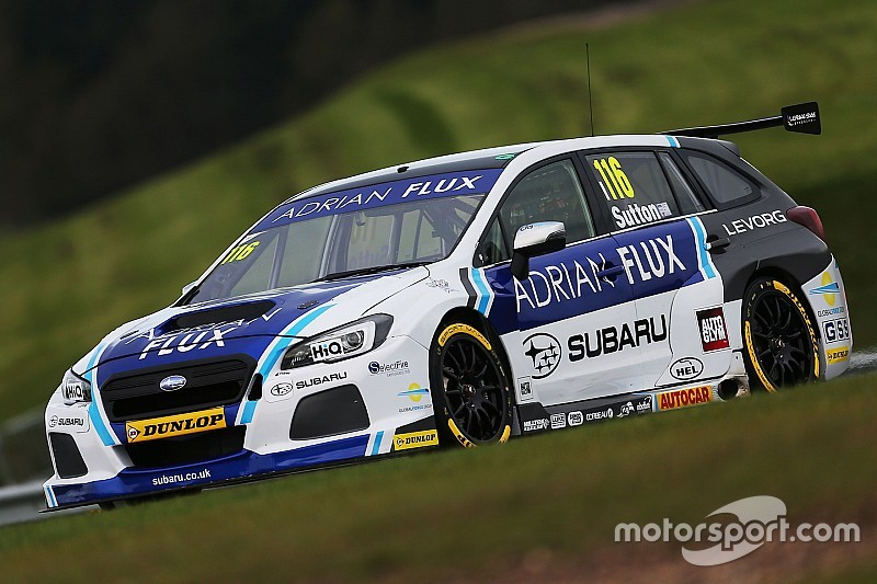 Oulton Park BTCC: Sutton takes Subaru's first win of 2017