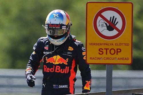 """Des qualifications """"frustrantes"""" pour un Ricciardo déçu"""
