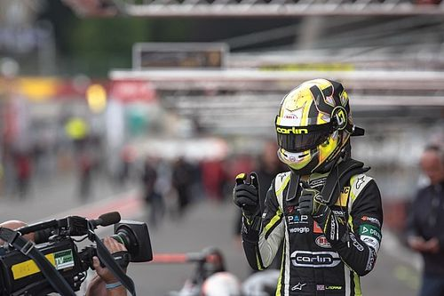 Norris loses third Spa pole after crash