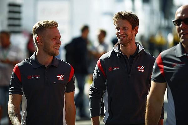 Magnussen, Grosjean'ın Haas'taki