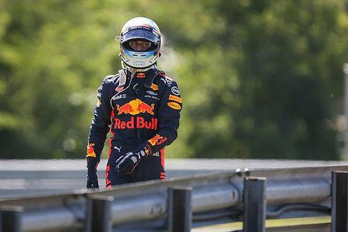 """Ricciardo boos op Verstappen: """"Het werd even rood voor zijn ogen"""""""