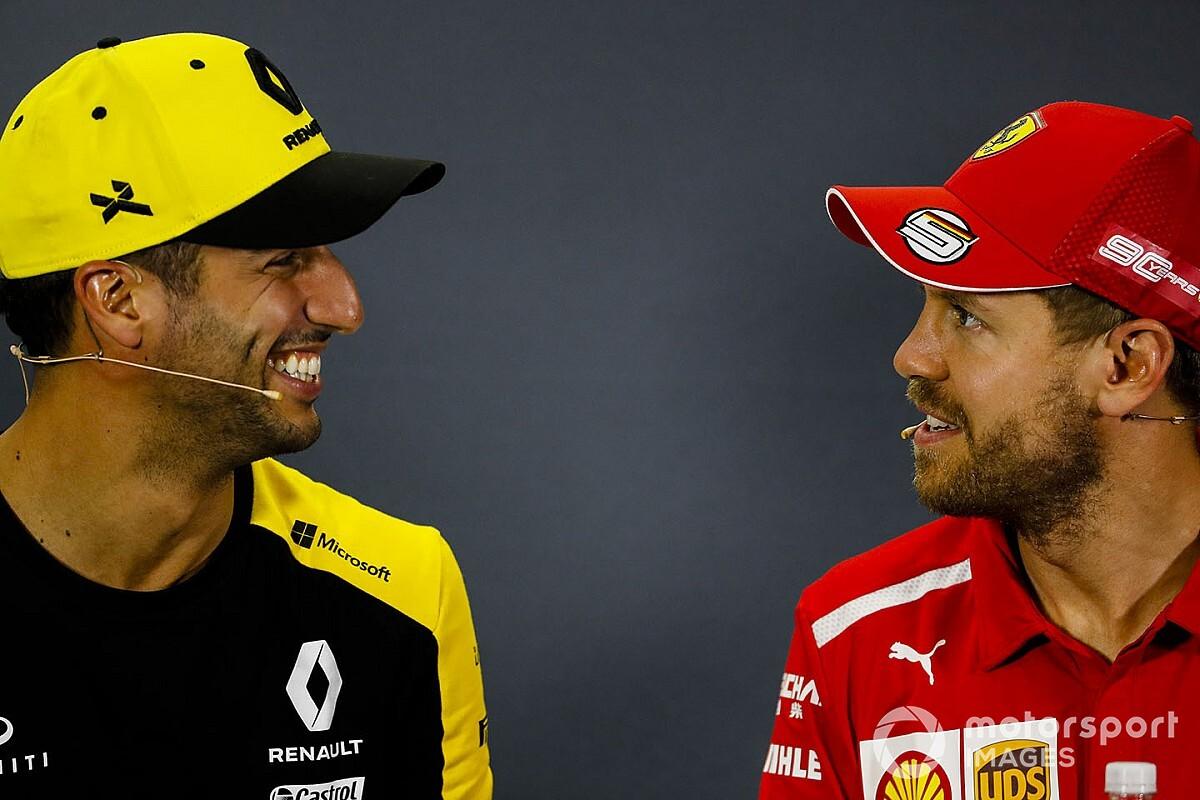 Ricciardo: Vettel'in yerine Ferrari'ye geçme şansım yok