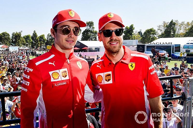 Leclerc kész másodszámú lenni a Ferrarinál
