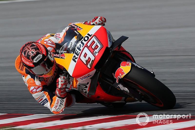 """""""Voorzijde Honda nog altijd kritiek punt"""", erkent Marquez"""