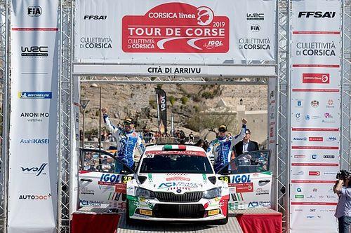Fabio Andolfi è strepitoso: vince la categoria WRC2 al Tour de Corse