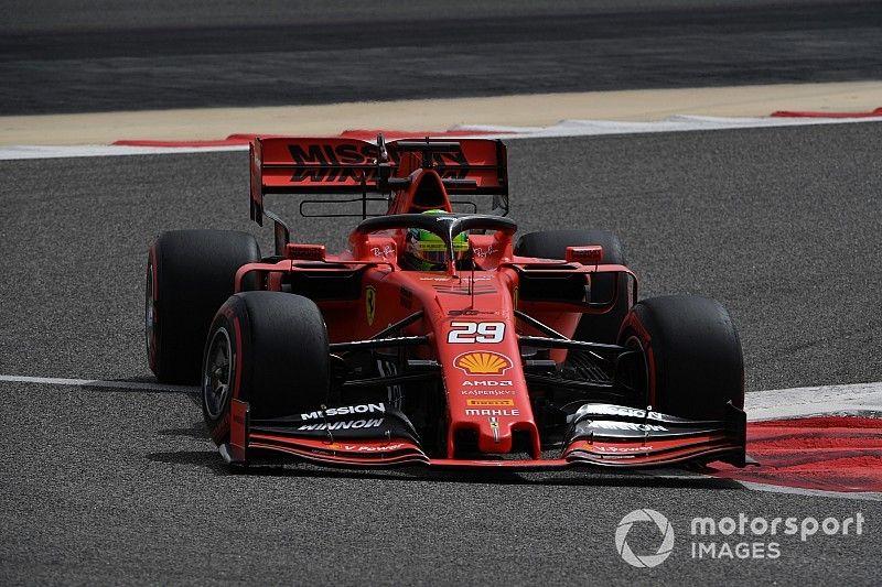 Mick Schumachers erster Formel-1-Test im Ferrari: Beinahe Bestzeit!