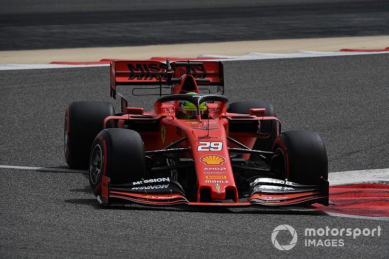 Mick Schumacher, Ferrari ile ilk F1 testi için piste çıktı!