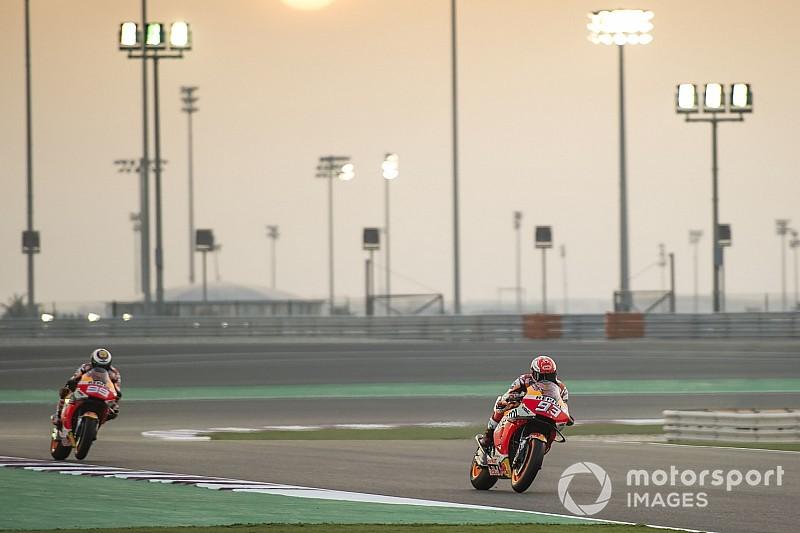 Honda-Teamduell im Fokus: Marquez und Lorenzo in Katar mit Fragezeichen