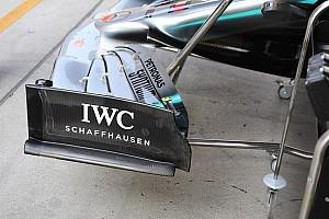 La saga de l'aileron Mercedes expliquée